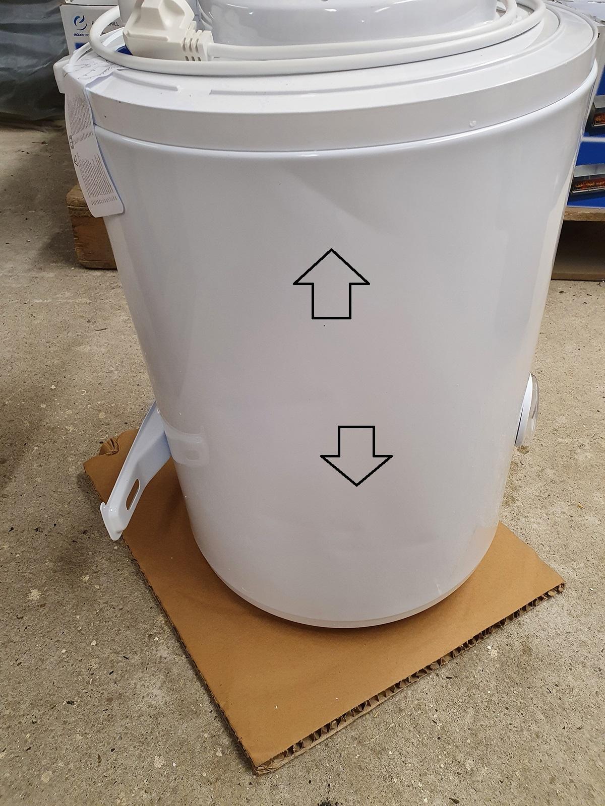 B-Ware Warmwasserspeicher Tesy Elprom 30 Liter druckfest
