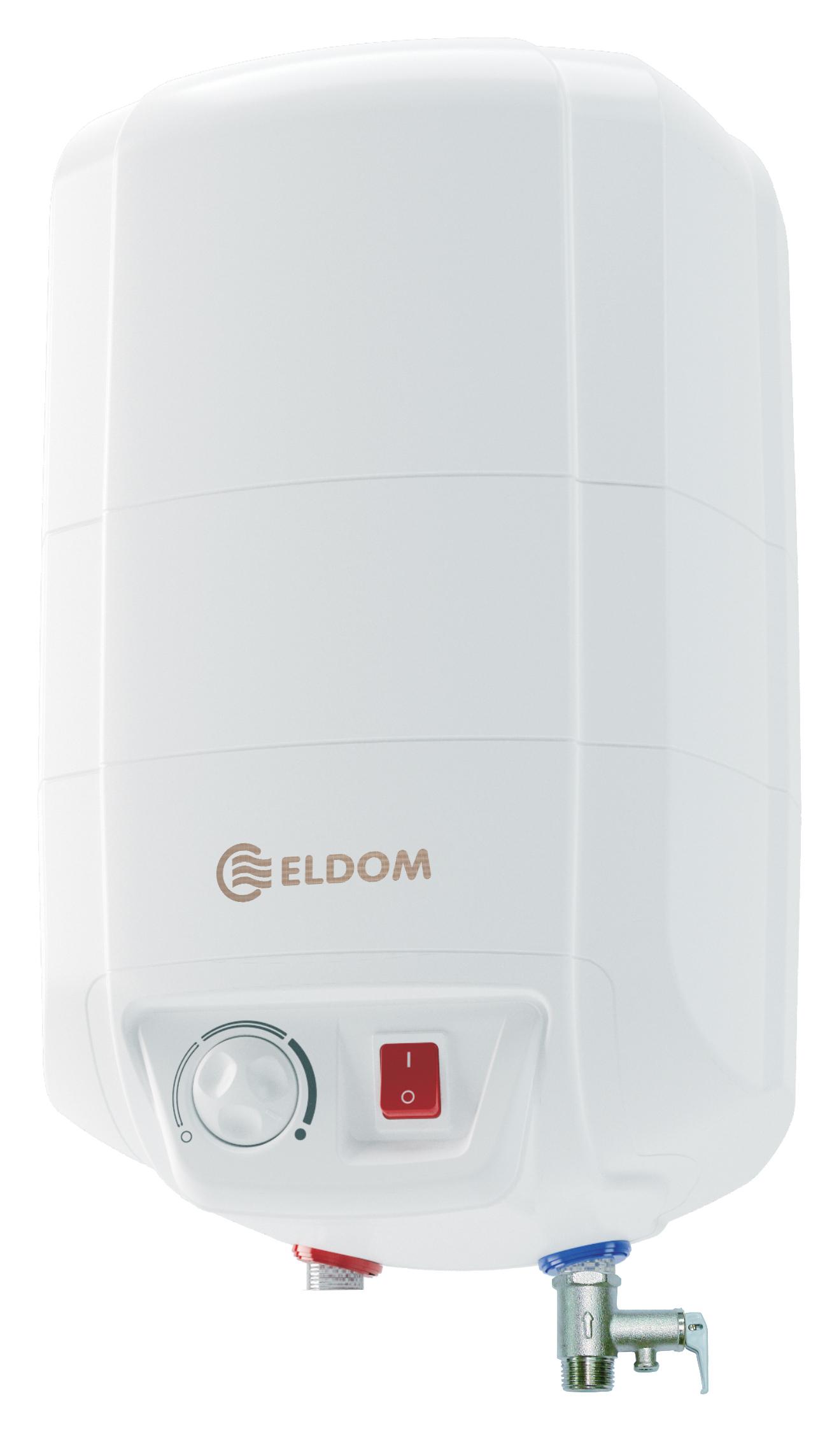 Warmwasserspeicher Eldom 10 druckfest übertisch