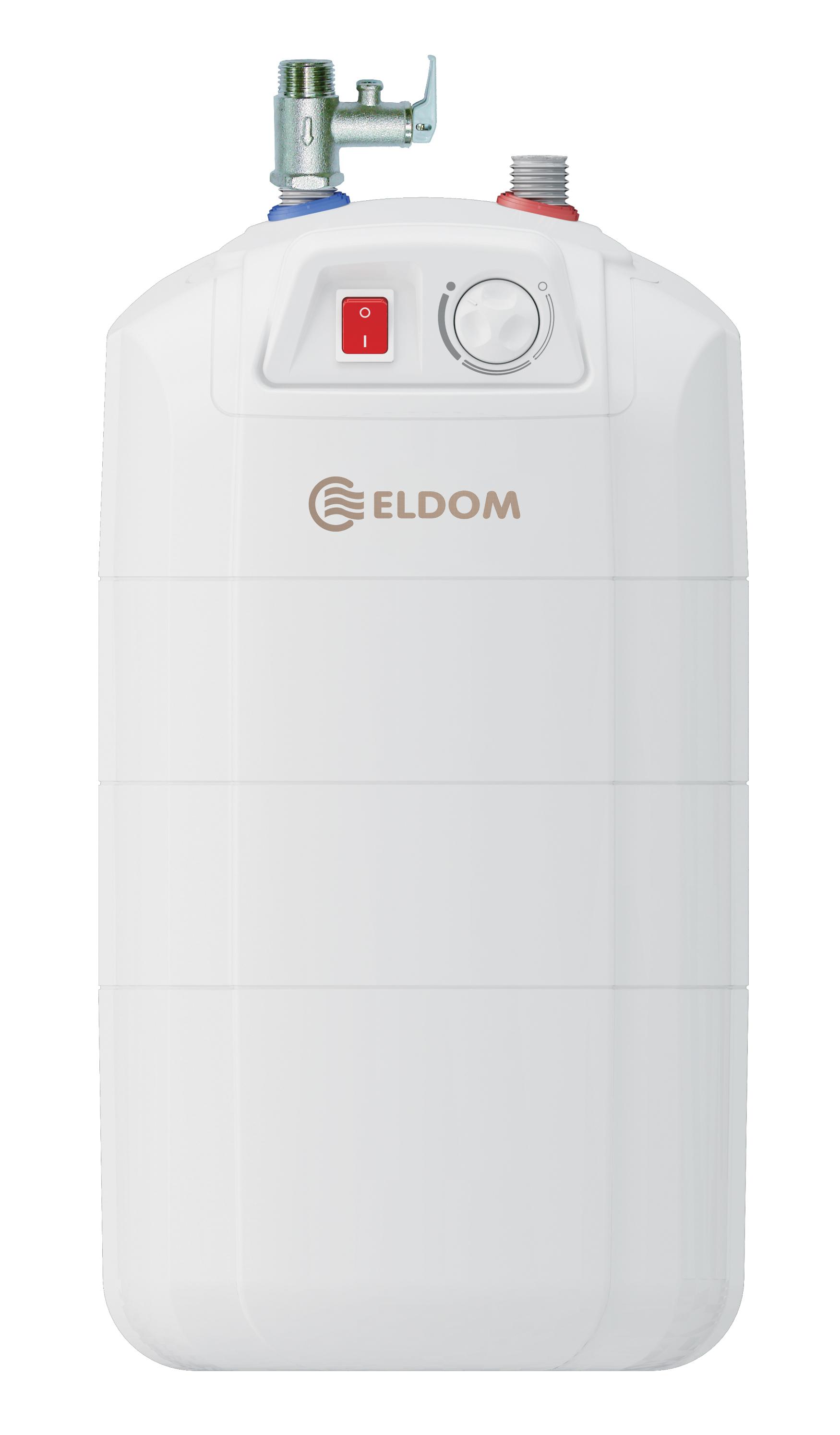Warmwasserspeicher Eldom 15 druckfest untertisch