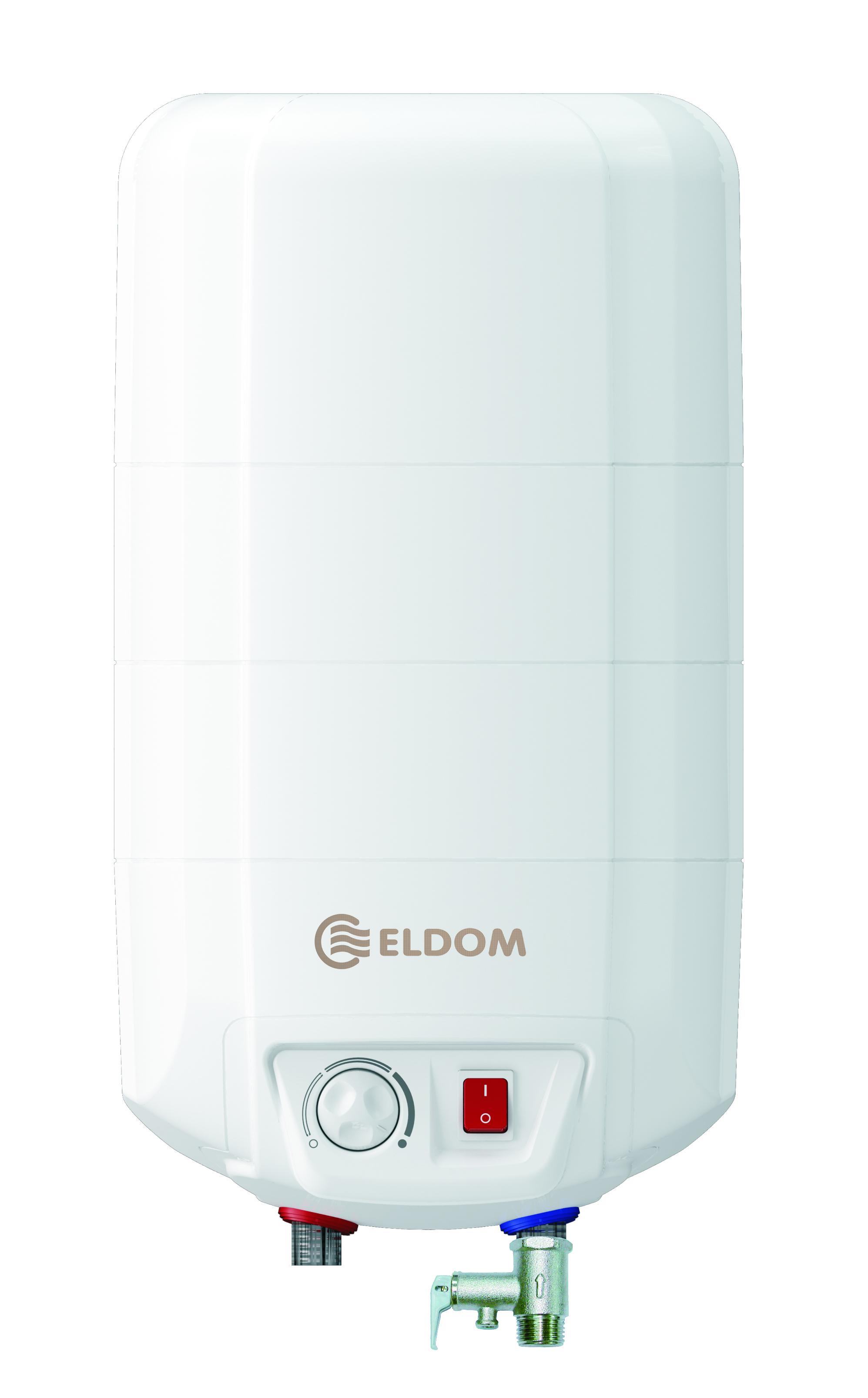 Warmwasserspeicher Eldom 15 druckfest übertisch