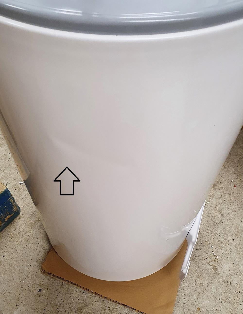 B-Ware Warmwasserspeicher Eldom Style Dry 80 Liter druckfest