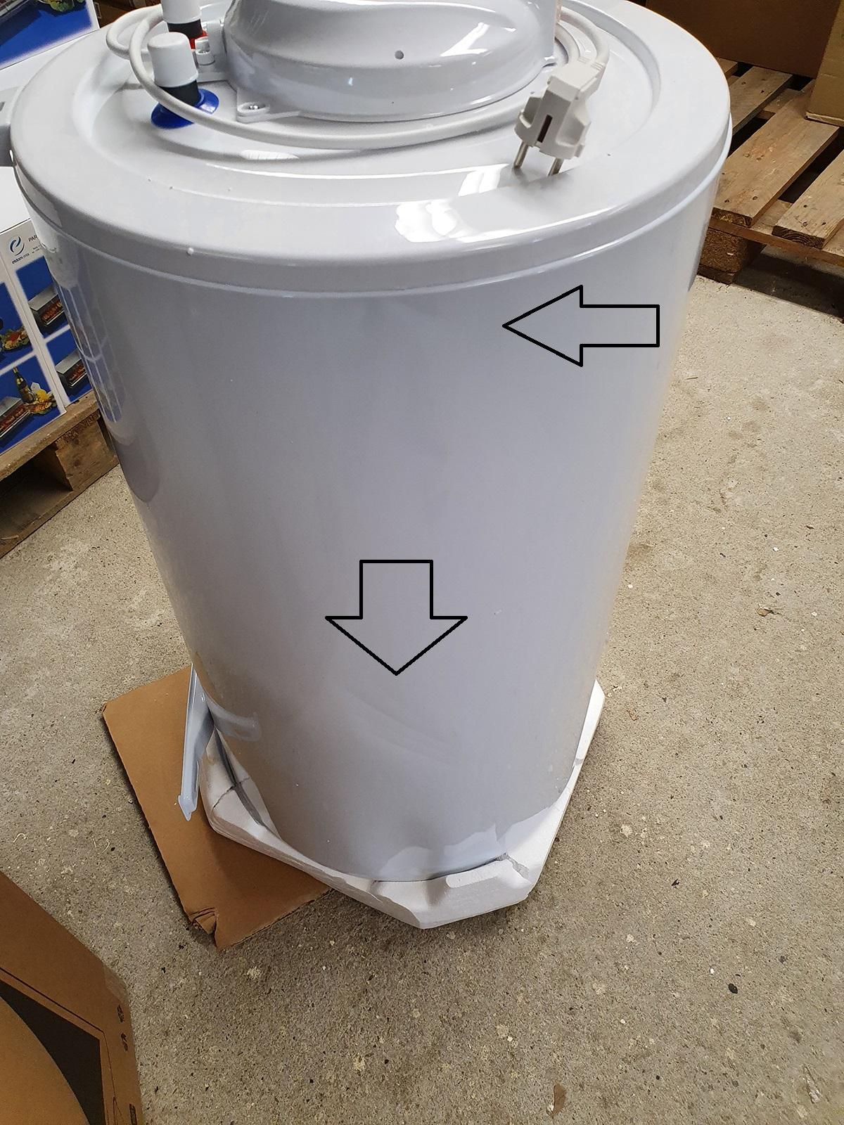 B-Ware Warmwasserspeicher Tesy Elprom 80 Liter druckfest
