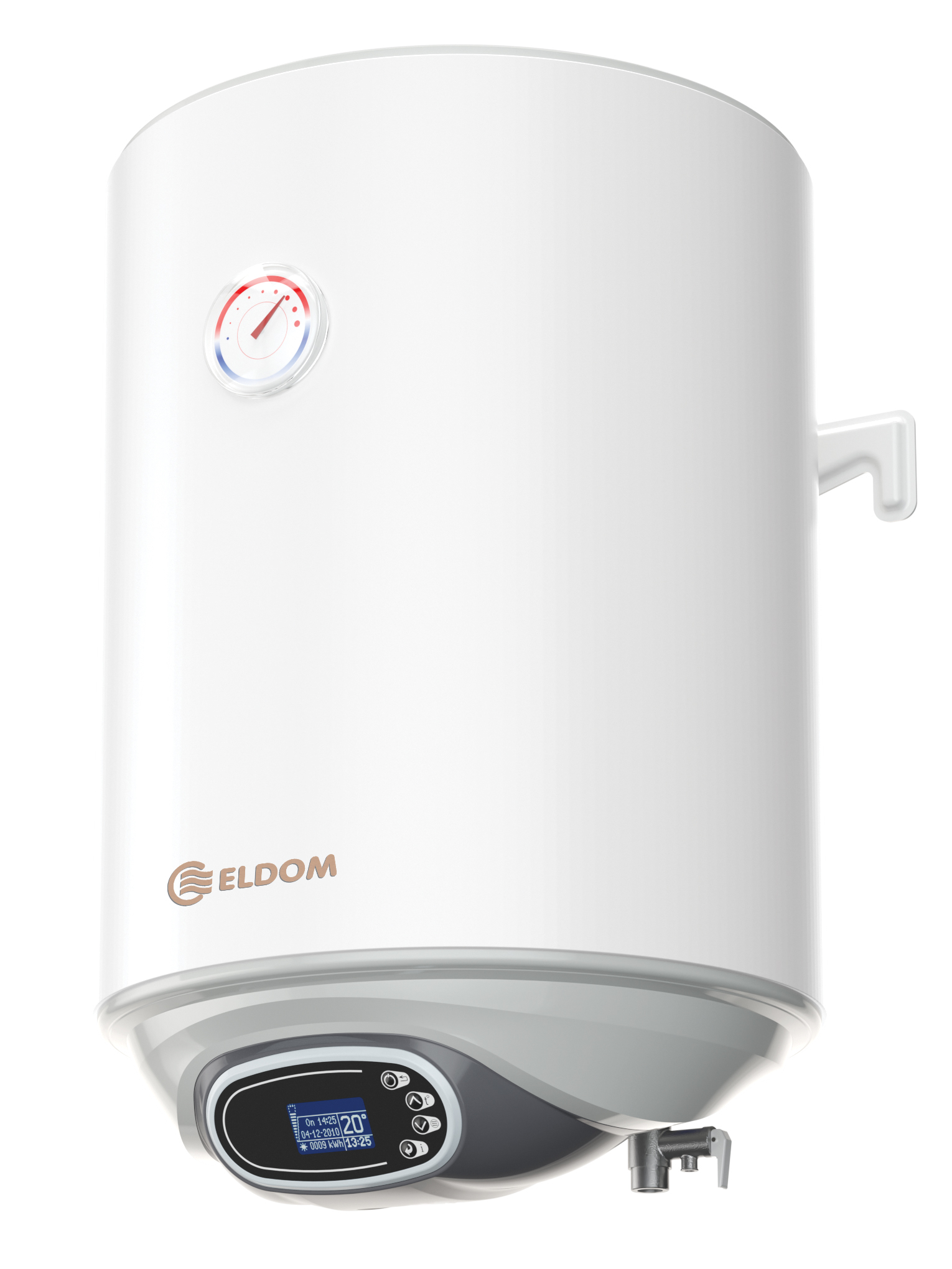 Warmwasserspeicher Eldom Favourite Digital 30 Liter druckfest