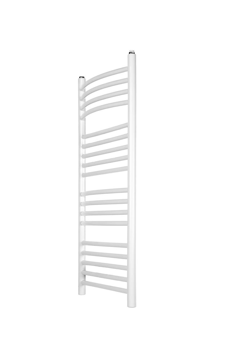 Aluminium Badheizkörper gebogen 900 x 432 mm