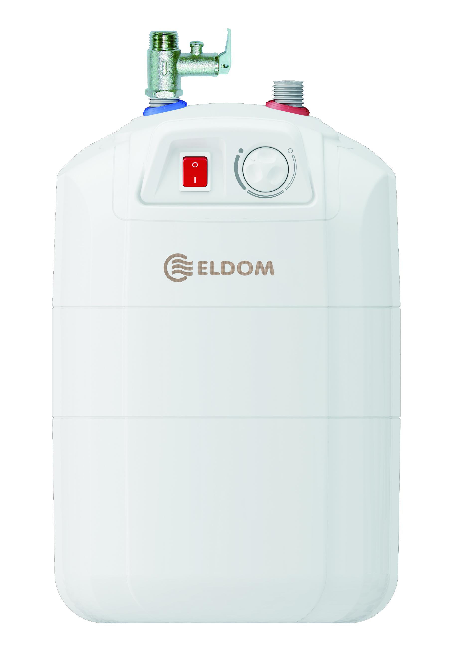 Warmwasserspeicher Eldom 10 druckfest untertisch